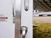 Ramp Door Paddle Latches, Door Accessories, Custom Trailer Options