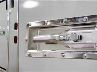 Ramp Door Recessed Paddle Latches, Door Accessories, Custom Trailer Options