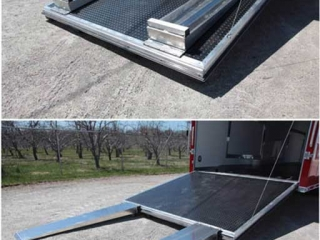 Ramp Extension, Door Accessories, Custom Trailer Options