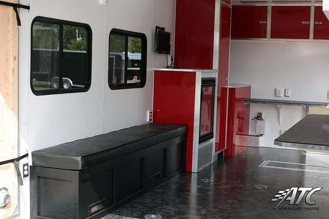 Red Office Trailer for Sale