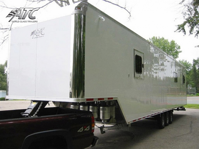 Custom Trailers, Commercial Custom Trailers, Remote Fish Tagging Trailers