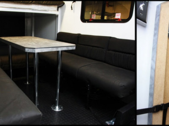 Removable Dinette Table, Furniture, Custom Trailer, Otions