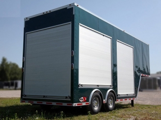 Roll up door gooseneck trailers mo great dane trailers for 10x10 roll up door for sale