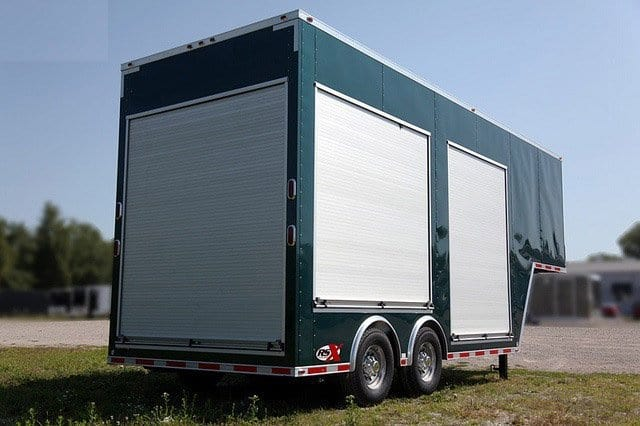 Roll Up Door Gooseneck Trailers Mo Great Dane Trailers