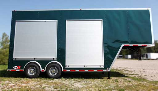 Roll Up Doors, Custom Trailer Options