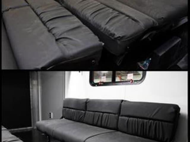Rollover Sleeper Sofa, Furniture, Custom Trailer, Options