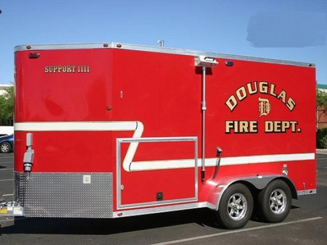 Custom Trailers, Emergency Management, Rescue, SCBA Breathing Air Fire