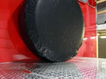 Spare Tire Cover, Axles, Tires, Custom Trailer Options