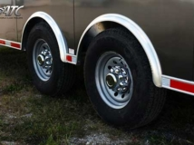 Spread Axles ATC Standard, Tires, Custom Trailer Options