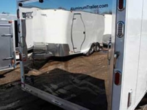 Stainless Steel Exterior Ramp, Exterior, Custom Trailer Options