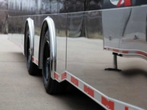 Stainless Steel Side Trim, Exterior, Custom Trailer Options