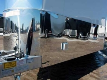 Stainless Steel Stone Guard, Exterior, Custom Trailer Options