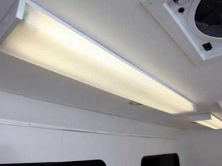 Surface Mount Fluorescent Light, Voltage, Custom Trailer Options