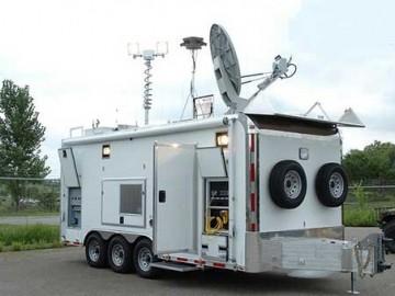 Satellite Communications, Electronics Computers Phones AV, Custom Trailer Options