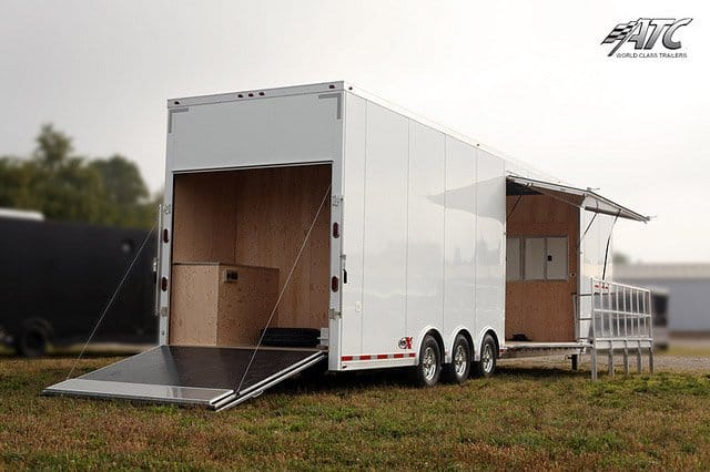 Semi Trailer Stage Showroom