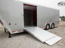 Side Ramp Door, Custom Trailer Options