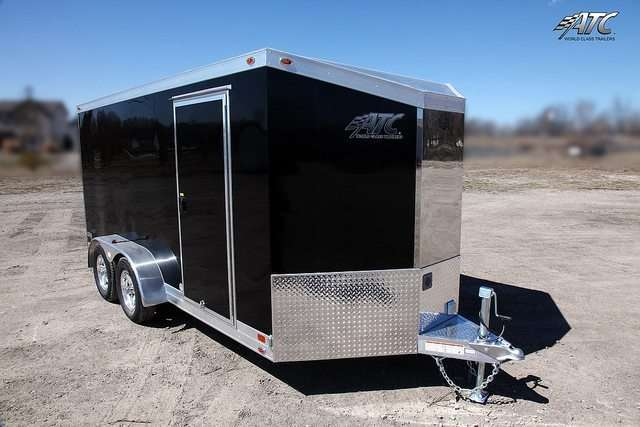Slant Nose ATC Motorcycle Trailer