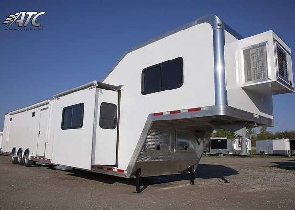 Car Hauler - Race Trailers with Living Quarters 11