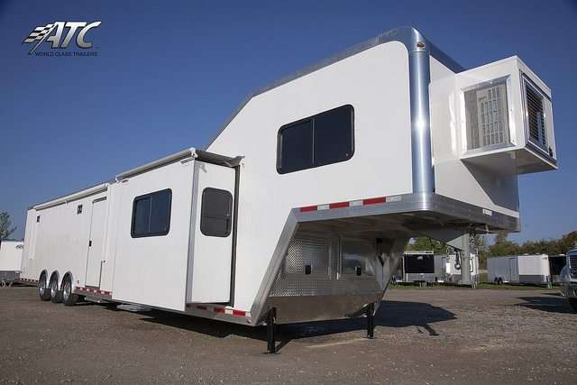 ATC Car Hauler with 14ft Living Quarters