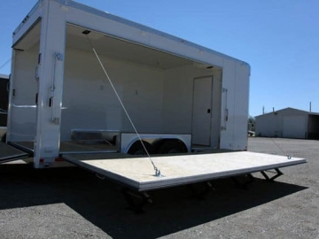 Stage Door, Winch Assist, Stage Options, Marketing Options, Custom Trailer, Options