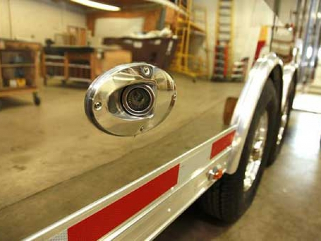 Stainless Backup Lights, Voltage, Custom Trailer Options
