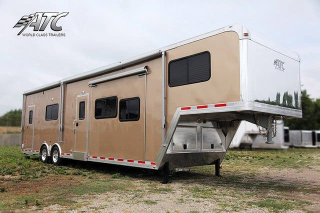 Stainless Steel Front Wall, Gooseneck, 5th Wheel, Custom Trailer, Options