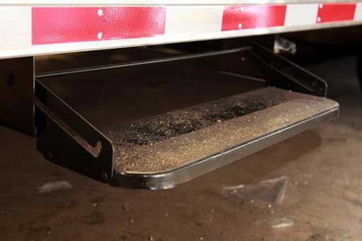 Steel RV Step, Door Accessories, Custom Trailer Options