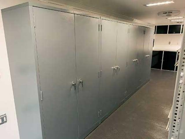 Steel Storage Cabinets, Cabinets, Storage, Custom Trailer Options