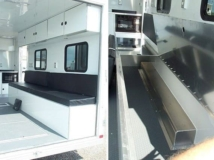 Storage Bench Seat, Furniture, Custom Trailer, Otions