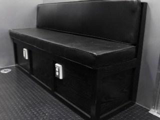 Oak Storage Bench Seat, Furniture, Custom Trailer, Otions