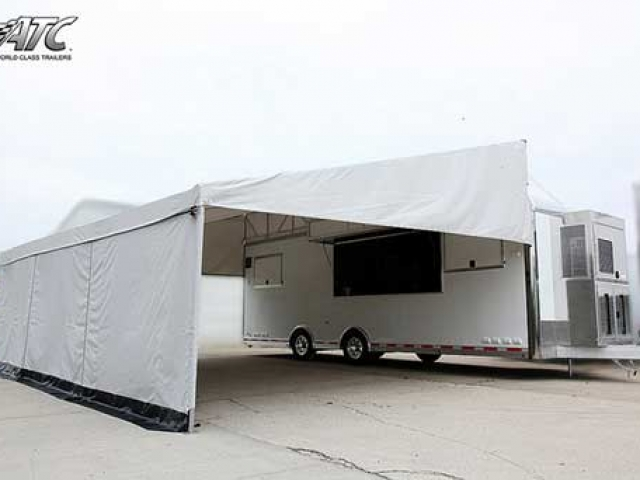 Tent Awning, Custom Trailer Options