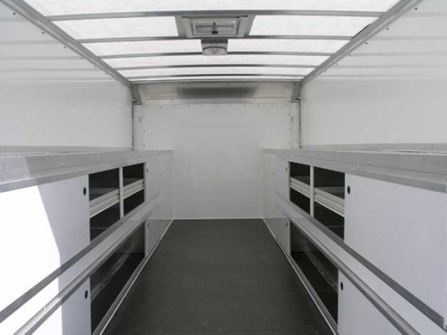Translucent Roof, Roof and Ladder, Custom Trailer, Options
