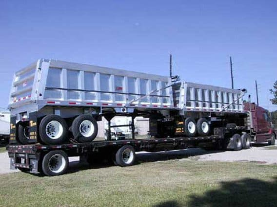 Travis Trailers, Dump Trailer, Classic End Dump, Semi Trailers, Missouri Great Dane, MO Great Dane