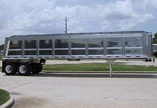 Travis Powerlite End Dump Trailer