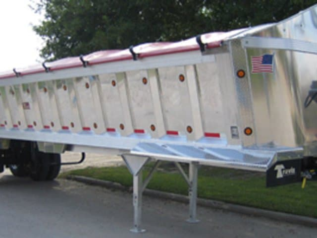 Travis Trailers, Dump Trailer, Wedge End Dump, Semi Trailers, Missouri Great Dane, MO Great Dane