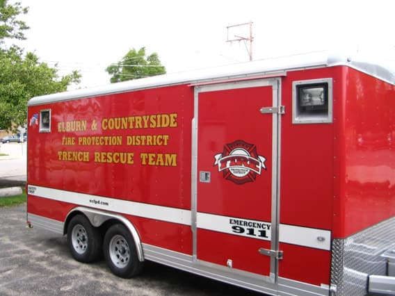 Trench Rescue Trailer Emergency Mgmt Mo Great Dane
