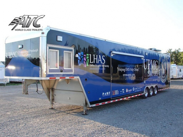 Custom, Medical, Trailers, UPMC, Mobile, Hospital
