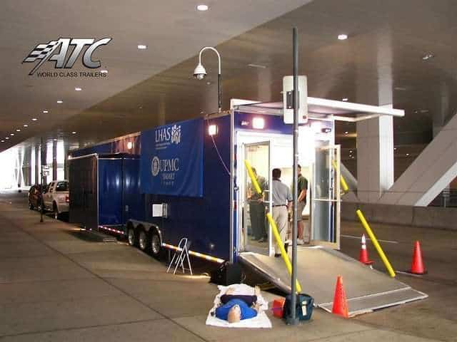 UPMC Mobile Hospital Trailer