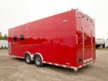 US Navy Dive Water, Rescue Trailer, Hazmat, Decontamination, Decon, Custom Trailer