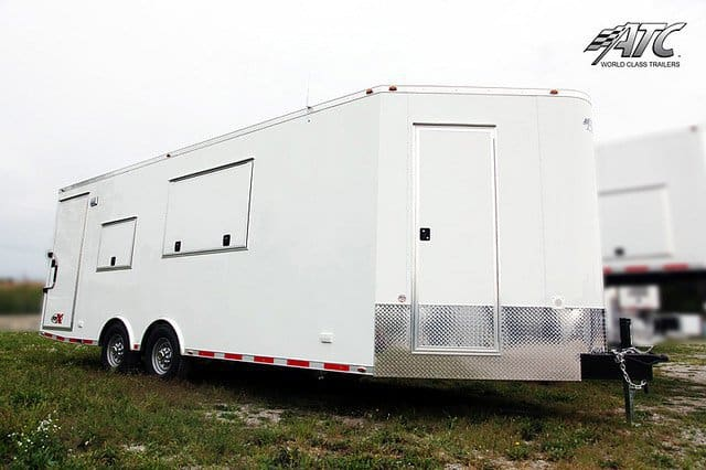 V-Nose Custom Office Trailer