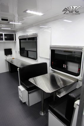 Custom Trailers, Office, Classroom, V-Nose