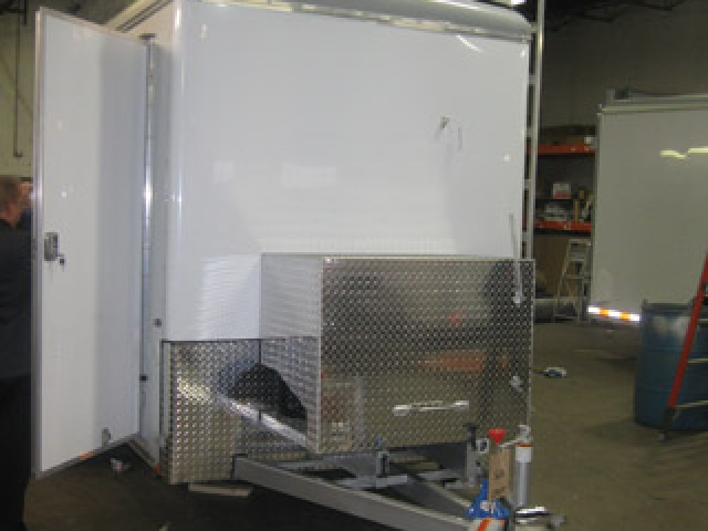 Custom Trailers, Emergency Management, Communications, VSAT