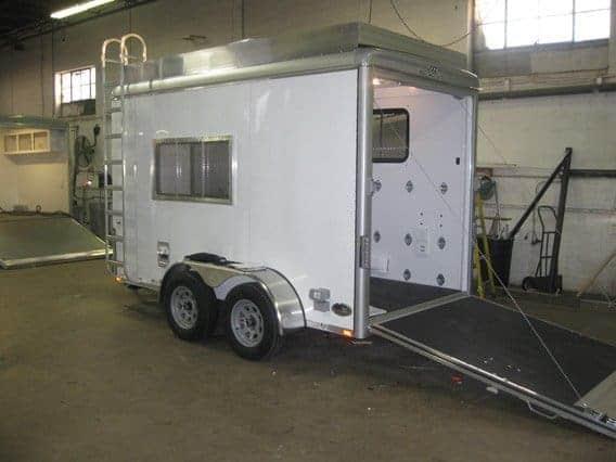 Custom Trailers, Emergency Management, Communications, VSAT