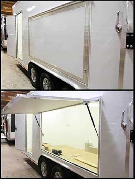 Vending Door, Custom Trailer Options