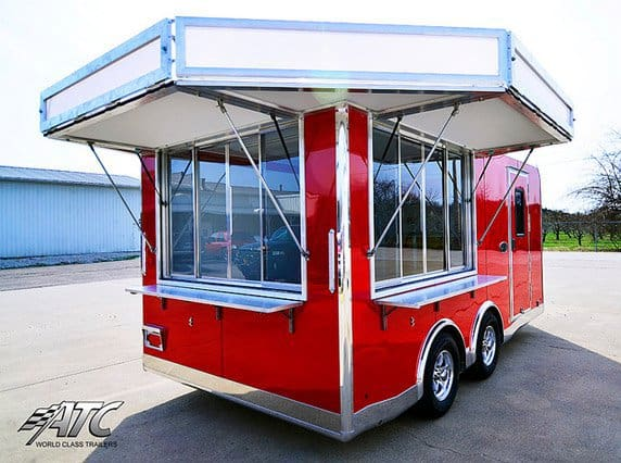 Vending Door Signage, Stage Options, Marketing Options, Custom Trailer, Options