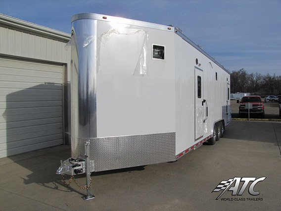 Custom Trailers, Emergency Management . Hazmat, Decontamination, Wedge Nose, Command