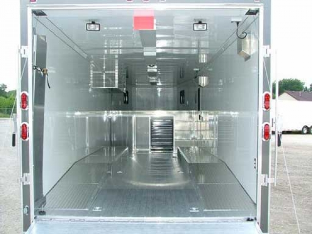 Wheel Box Ramp Overs, Flooring, Custom Trailer Options
