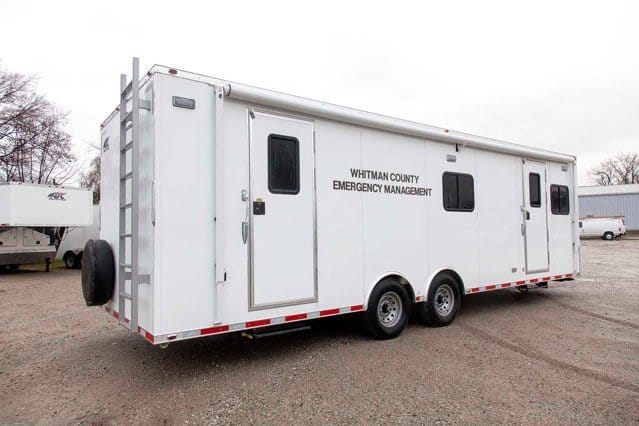 Custom Trailers, Emergency Management, Response,Whitman County Communications