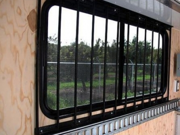 Window Steel, Windows, Vents, Custom Trailer, Options