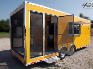 Penske Yellow, Premium Colors, Custom Trailer Options